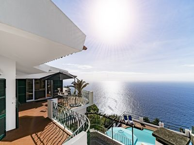 Photo for Cliff Top Villa With Magnificent Views Of The Atlantic Ocean | Villa Aquarela