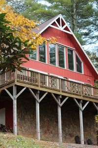 Photo for The Gingerbread House is located in the heart of the Blue Ridge Mountains!