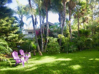 Photo for A private Lush Garden Estate with large Pool 1.5 Acres & Spa