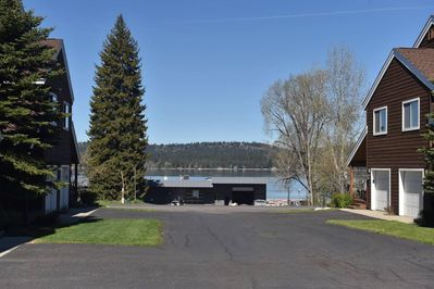 Just across from Payette Lake