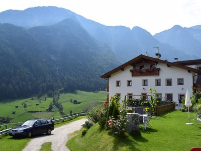 Photo for Apartment in the beautiful Martell Valley with breathtaking views South Tyrol