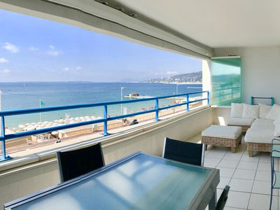 Photo for 1 Bdr with Large Sea Front Terrace & Garage