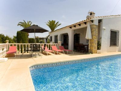 Photo for 3 bedroom Villa, sleeps 6 in L'Albir with Pool