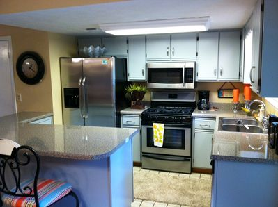 Kitchen w/ New Countertops and SS Appliances