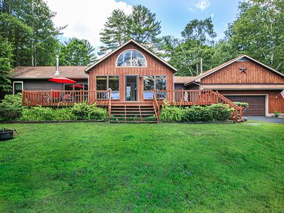 Stay in this large beautiful Adirondack home!