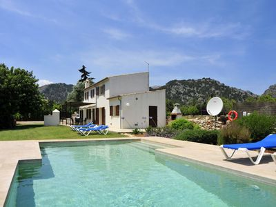 Photo for Pollensa Villa with pool walking to the town of Pollensa and 6km from the beach