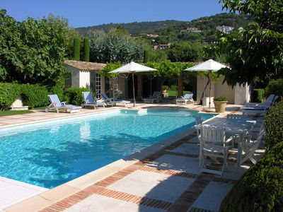 Photo for Villa with sea view, Gulf of Saint-Tropez