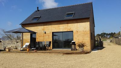 Photo for Between Bénodet and Pointe du raz, The wooden cottage from 2 to 8 people