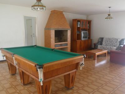 Photo for Site with large swimming pool, barbecue, games room and lawn and blue whiting