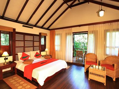 Photo for Lush Green Bamboo Hut/Peaceful Resort Stay