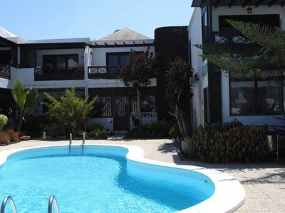 Photo for Apartment Aquamarin in small complex with pool in Puerto del Carmen