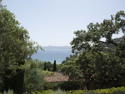 Photo for Pretty little villa with a splendid sea view Beach accessible on foot in 5 minutes