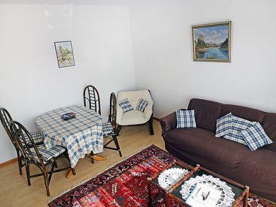 Photo for Apartment in Bissone with Parking, Internet, Washing machine, Pool (48289)