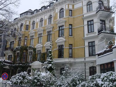 Photo for luxury apartment in old building, 3 min by foot to the Alster