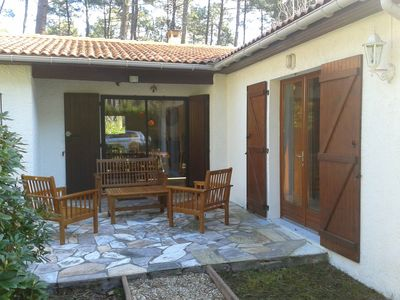 Photo for House Aresian the heart of the Landes forest 5 minutes from the beach
