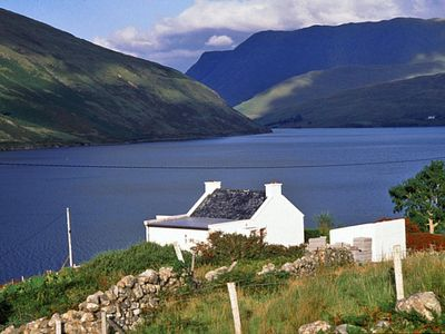 Photo for Traditional stone cottage in superb location beside Killary Harbour and enjoying spectacular a…