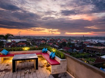 Photo for Cozy Room in A Boutique Accommodation, 360 Degree Canggu View from Rooftop