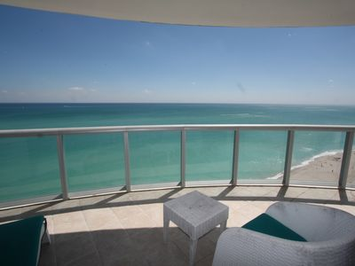 Photo for BEAUTIFUL OCEAN AND CITY VIEWS 2 BDRM/3 BTH OCEANFRONT BLDG SUNNY ISLES BCH, FL