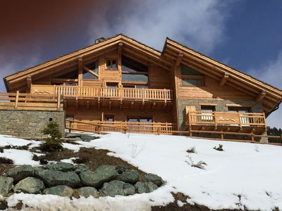 Photo for LUXURY CHALET ON THE SLOPES