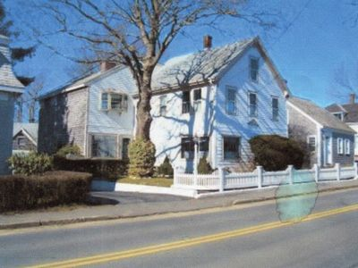 Photo for Beautiful Captain's home only steps to beach, lighthouse, fish pier and town! So convenient walk to all. Band concerts in town Friday nights!