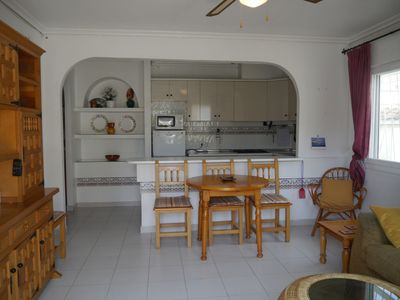 Photo for House with 3 bedrooms and 3 bathrooms in Los Alcazares,  beach 15 min walk, wifi