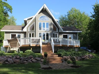Photo for Waterfront Cottage- Grand Lake, NB, Canada
