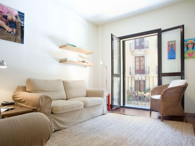 Photo for Born Tranquilo apartment in El Borne with WiFi, integrated air conditioning (hot / cold) & lift.