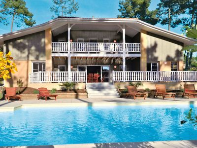 Photo for Lacanau-Ocean Holiday Home, Sleeps 10 with Pool and WiFi