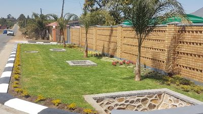 Photo for Welcome to Harris Apartments come enjoy our 2 Bedroomed furnished garden flats