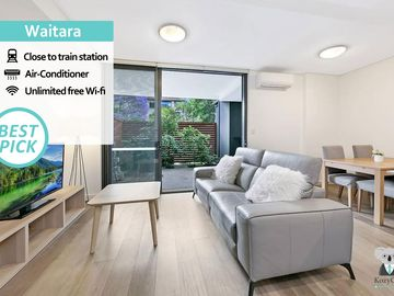 Sydney Wahroonga Station, Wahroonga, New South Wales, Australien
