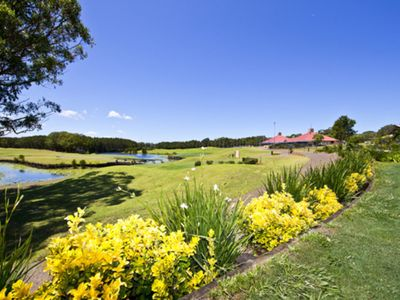 Photo for A refurbished two bedroom villa right on the course.