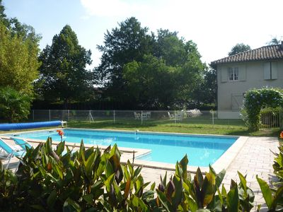 Photo for large detached house in agennais with shady park with heated swimming pool