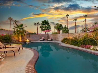 Photo for Refreshing Private Pool & Relaxing Spa, Gorgeous Views & KoolFog Misting System for Cool Patio Fun!