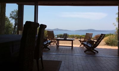 Photo for Saint Lucia of Porto Vecchio - Vardiola - exceptional sea view