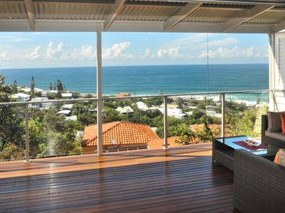 Photo for 'KARALEE', Enterprise Street - ocean views and bordering the Noosa National Park