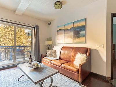Photo for Romantic, private condo with stunning mountain views & outstanding resort amenities