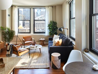 Photo for Stylish Corner 2 Bedroom in the Heart of Chicago