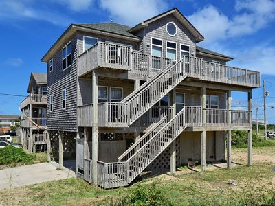 Photo for Shell Castle Cottage- 4 Bdrm- Steps from beach- Community Pool & Spa