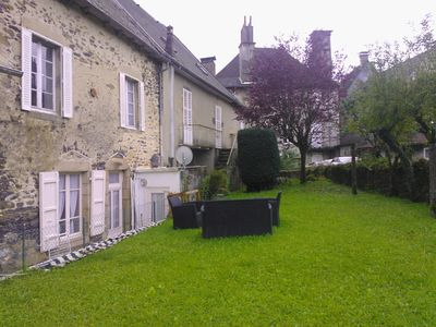 Photo for T3 with Garden for 5 people + 1 very calm baby in the center of Pleaux