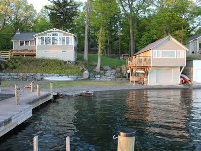 Photo for Cayuga Lake Cottage plus a Cozy Studio Guest House.   Sleeps 6 adults