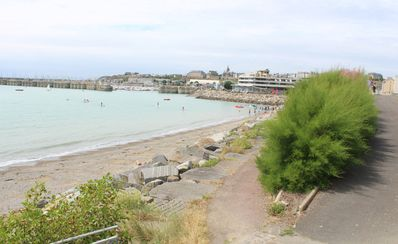 Photo for GRANVILLE.  View of the sea, beach, ports - Town center - Calm