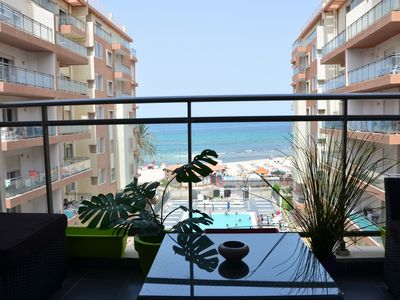 Photo for Luxury apartment with balcony sea view