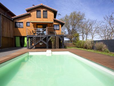 Photo for Lovely Villa with a fantastic panoramic view of the pool - Pool