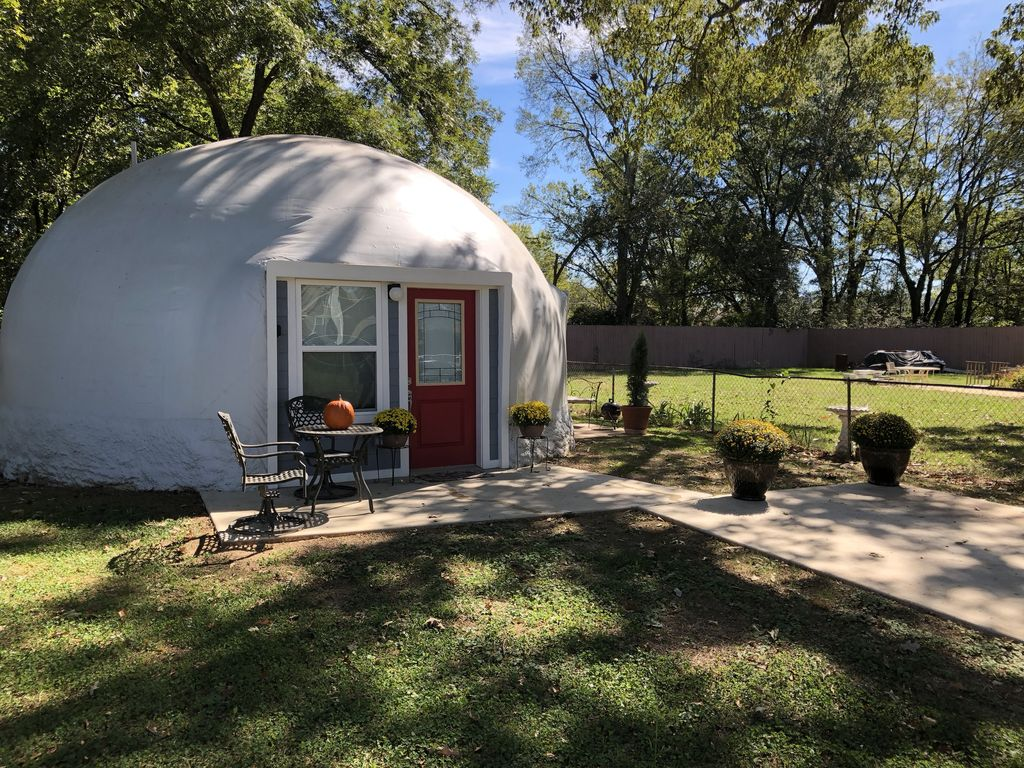 Backyard Dome vacation dome rental in the unique city of  - homeaway