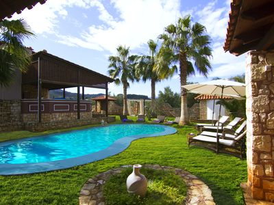 Photo for beautiful family friendly villa with pool