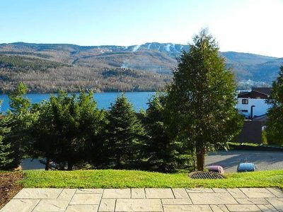 Photo for Tremblant 1BR, Beautiful View, 2km to Mountain