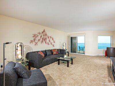 Photo for Don't Worry, Beach Happy! Gorgeous 2 BR Oceanfront Condo Surfsong #13