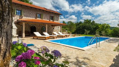 Photo for Lovely villa with private pool near Opatija