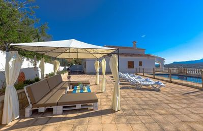 Photo for MATISSE, Large villa in Moraira for 9 pax, private pool and free wifi