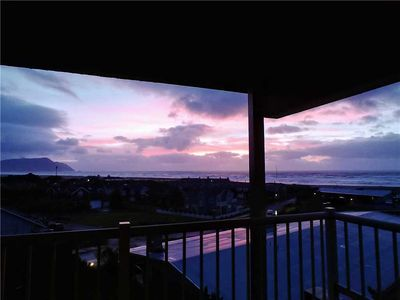 Photo for Expansive ocean view sunrise to sunset. Newly remodeled